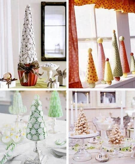 40+ Ιδέες για μικρά Χριστουγεννιάτικα δεντράκια